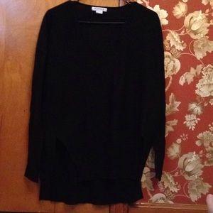 NWOT black sweater from nastygal XS.